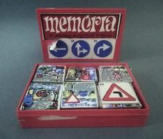 Kresz retro memory game, 1980