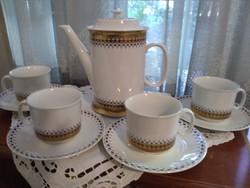 Loucky Josefina mintás teás/kávés készlet