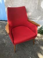 Retro armchair.