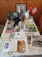 Komoly Német háborús ifjusági,női szervezet gyűjtemény.