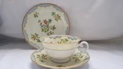 Noritake Japanese porcelain tea trio