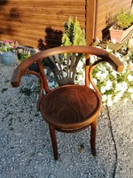 Thonet szék,Lichtig,jelzett,patkó karfás