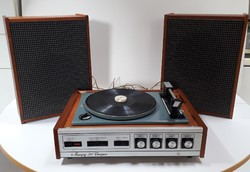 Russian-made chord 201 stereo turntable with speakers