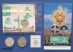 2021. évi Nemzetközi Eucharisztikus Kongresszus emlék szett UNC