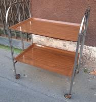 Art deco folding cart