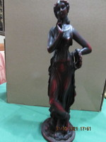 Szecessziós gipsz szobor 32 cm