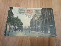 Tarnowitz-Budapest képeslap 1920.11.10. - bélyegérvényesítéssel