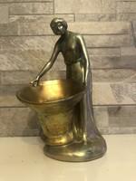 Antique zsolnay eosin statue!