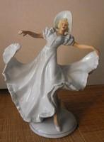 Viennese antique porcelain dancer