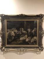 Árpád Bálint is a large-scale painting!