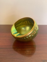 Zsolnay eosin ashtray for sale in undamaged, beautiful condition!