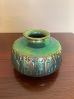 Zsolnay eosin vase is undamaged, in good condition for sale!