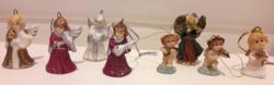 8 pcs mini angel decorations