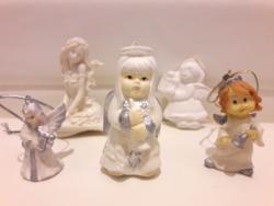 5 pcs mini angel decorations