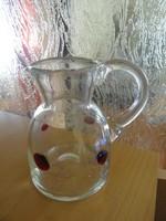 Glass small jug