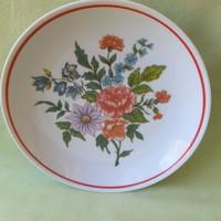 Retro. Raven house porcelain floral plate