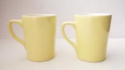 2 pcs retro yellow granite kp. Mug