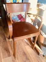 Thonet stílusú,karosszék,karfás szék diszkrét szobai wc hiánytalan állapotban