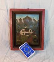 German painter, miniature image