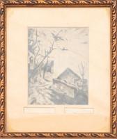 István Szőnyi (1894-1960): village detail.