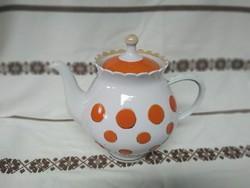 Soviet porcelain teapot, retro piece, I also recommend for decoration.