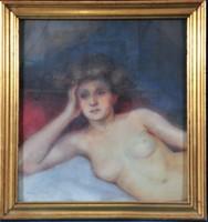 Vámossyné eleőd karola (1873-1962) naked lady
