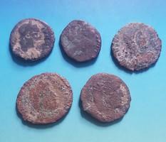 5 római kisbronz