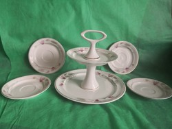 Ravenhouse cake stand with gift plates / set