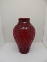 Zsolnay eosin ox-glazed vase.