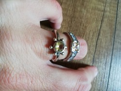 Masszív, köves ezüst gyűrűk