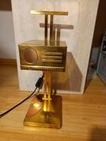 Bauhaus style table lamp, marcel breuer design2