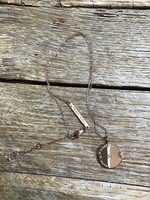 Original michael kors gold plated luxury jewelry necklace