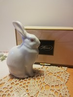 Herend bunny in a Herend box