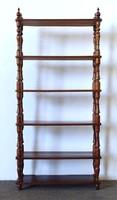1F790 Antik etager etázser polc 79 x 169 cm