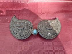 Antique silver belt buckle. 18 No. Arab, Eastern.