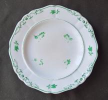 Antique Biedermeier hand painted porcelain plate schlaggenwald 1824