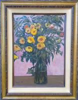 Demjén Attila (1926 - 1973 ) : Csendélet vázában 968