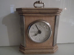Watch - English - copper - wood - glass - 19 x 15 x 5.5 cm - quartz - perfect