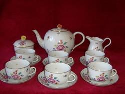 Herendi Nanking Bouquet teás készlet 6 személyre.