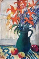 Klammer Mariska: Virágcsendélet
