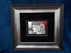 Endre Saxon plaque