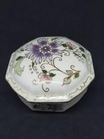 Zsolnay bonbonier porcelain, flawless, marked