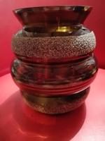 Retró üveg váza