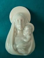 Metzler & ortloff porcelain madonna with child