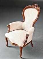 Neo-Rococo armchair