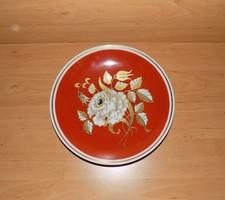 Wallendorf porcelain gilded serving bowl diameter 26 cm (2p)