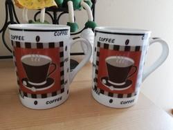 Kávés bögrék párban