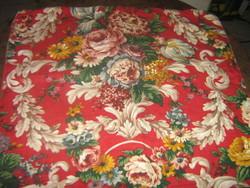 Beautiful vintage baroque rosy woven decorative pillowcase
