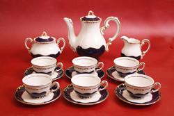 Zsolnay pompadour iii. Coffee / mocha set
