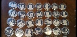 91 db amerikai ezüst érme